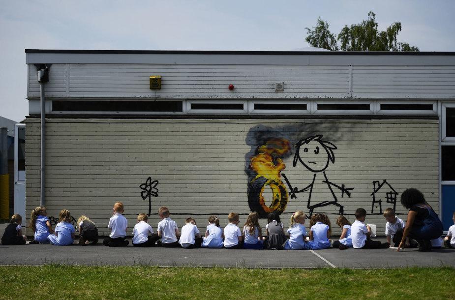 Banksy kūrinys Bristolyje