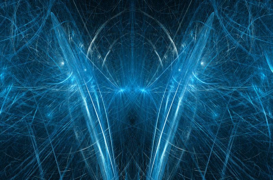 Abstraktus kvantinio kompiuterio atvaizdavimas