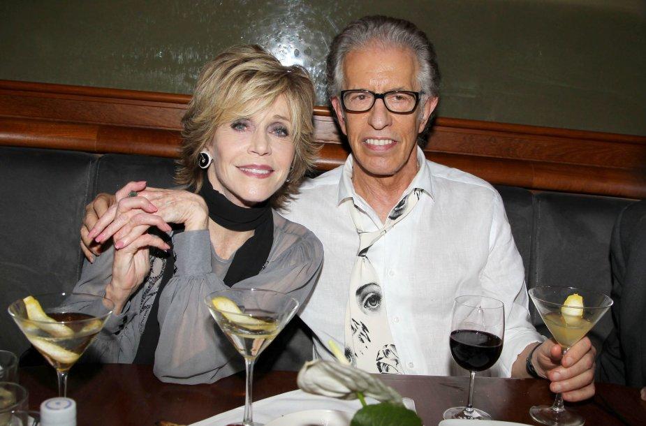 Jane Fonda ir Richardas Perry
