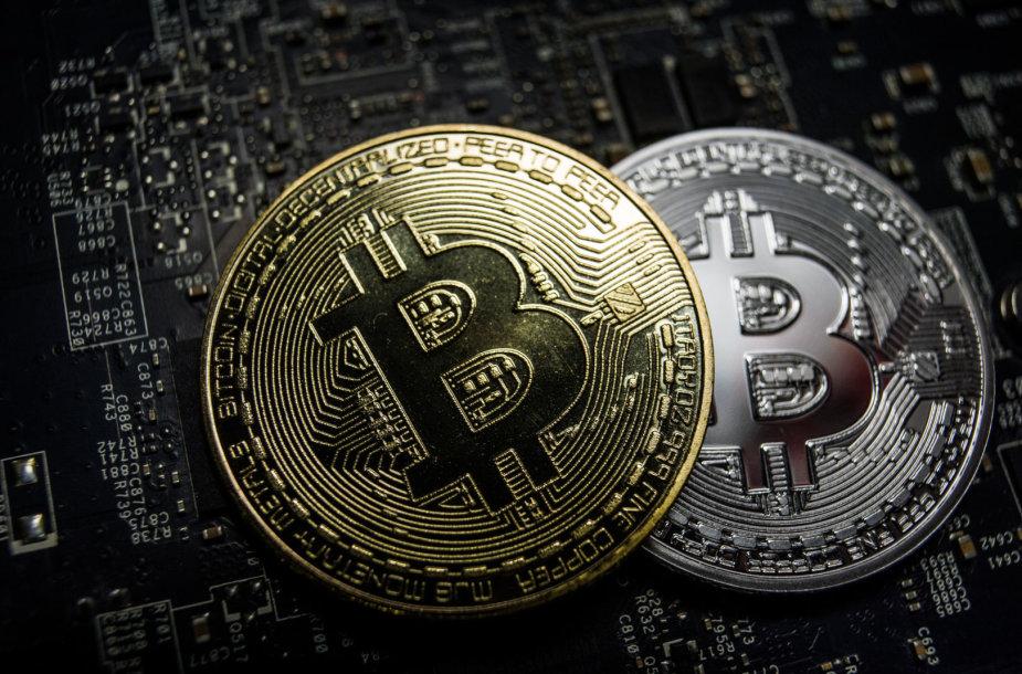 Bitkoinų kasimas