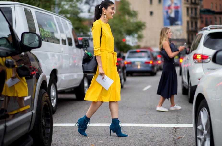 Niujorko mados savaitės gatvės stilius