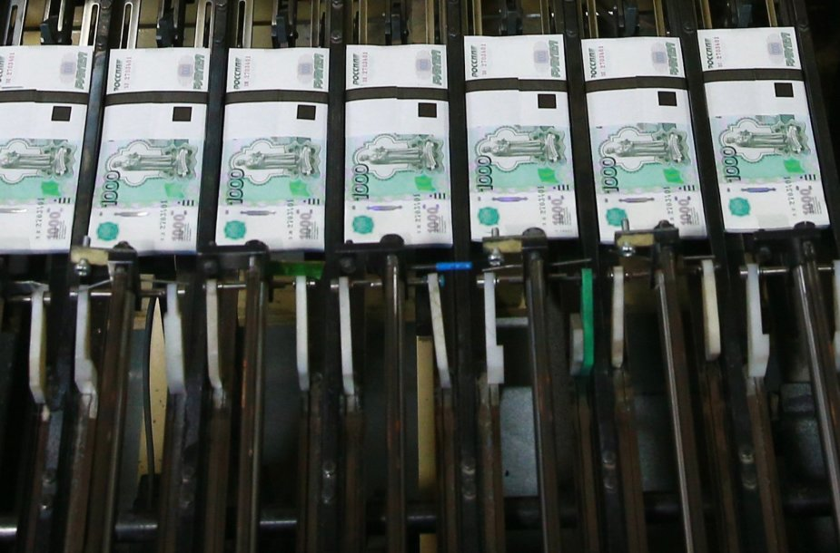 Rublio banknotai