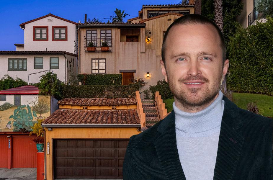 Aaronas Paulas pardavė namus Los Andžele