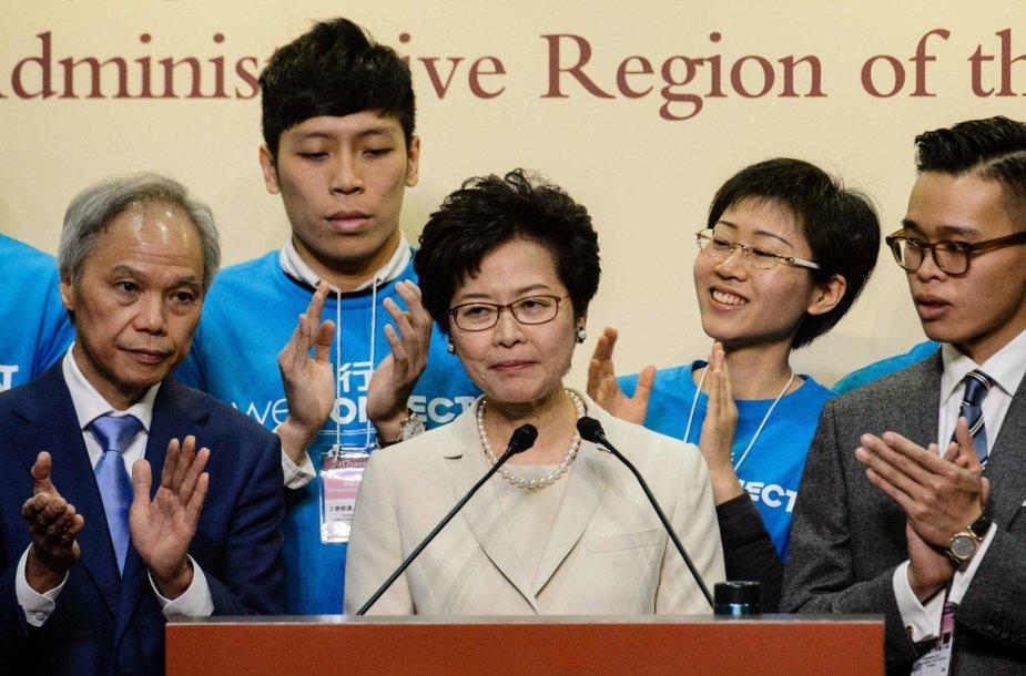 Carrie Lam, Honkongo administracijos vadovė