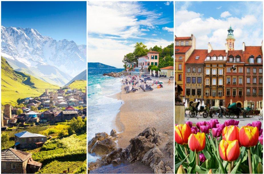 Sakartvelas, Kroatija, Lenkija jau laukia pasiskiepijusių turistų