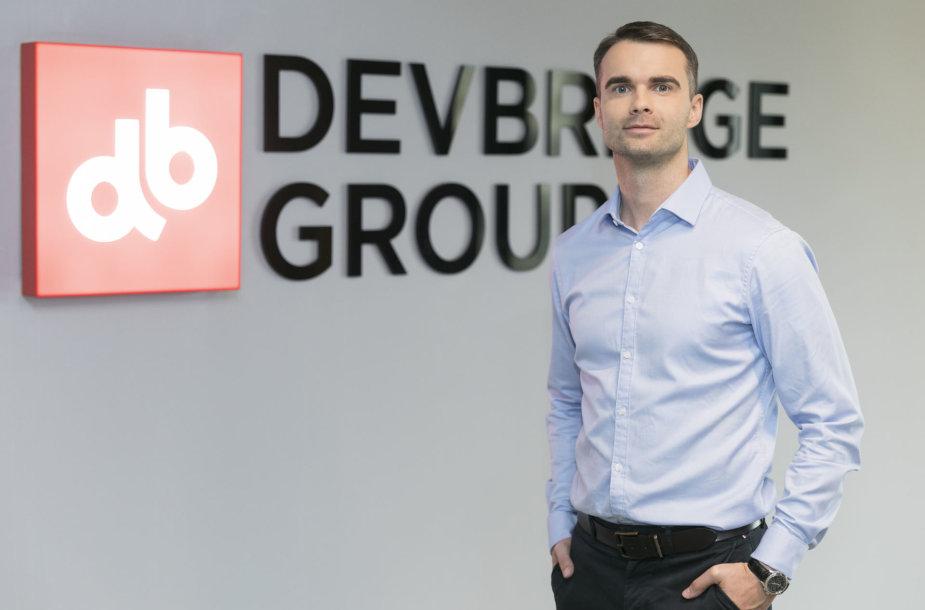 """Devbridge"" viceprezidentas Viktoras Gurgždys"