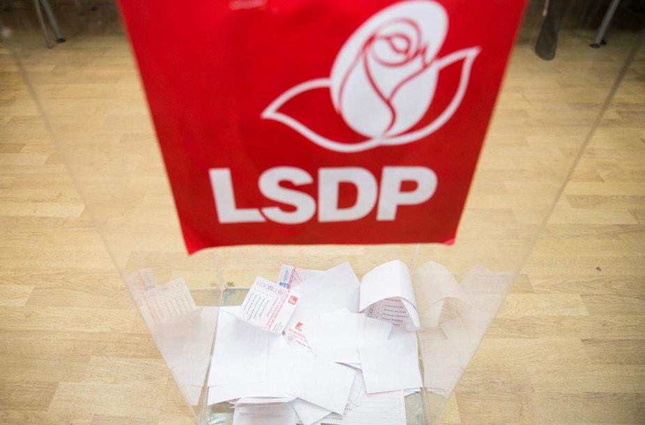 LSDP partijos pirmininko rinkimai