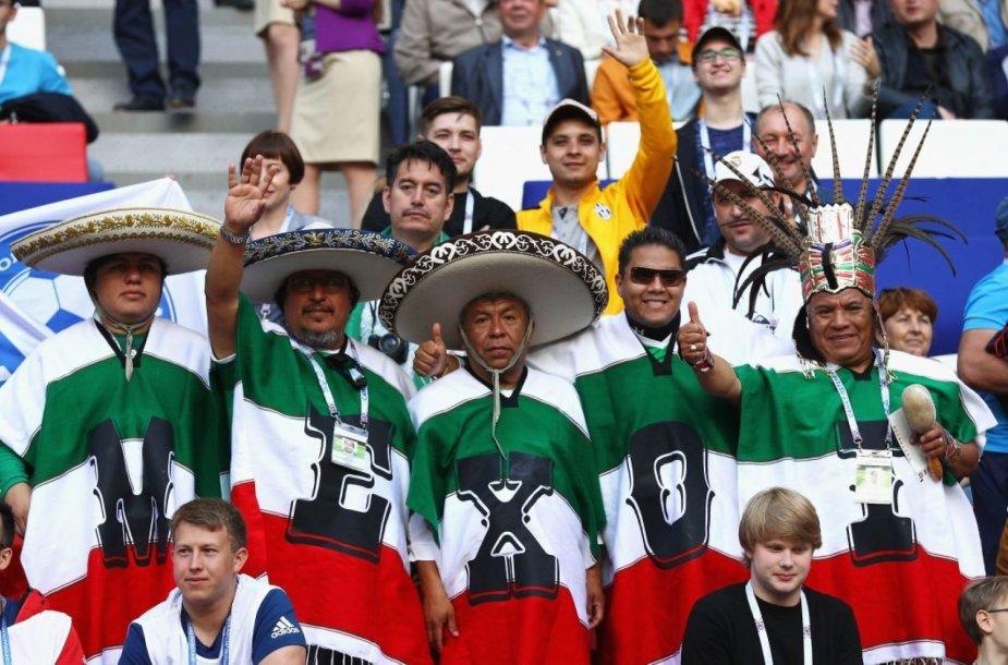 Meksikos futbolo aistruoliai