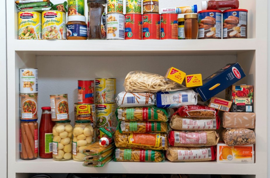 Maisto produktų atsargos