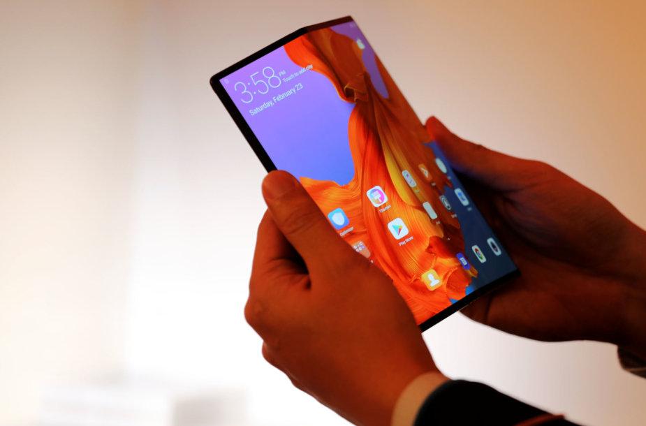 """""""Huawei Mate X"""" telefonas"""