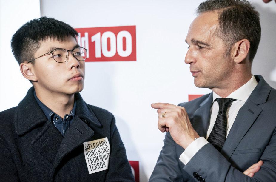 Joshua Wongas ir Heiko Maasas