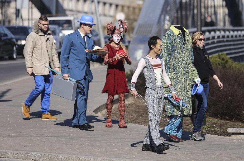 """""""Cirque du Soleil"""" atvyko į Vilnių"""