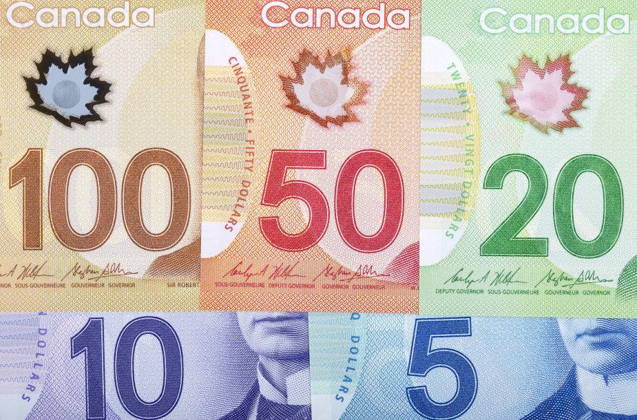 Kanados doleriai