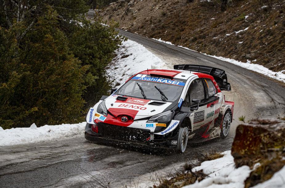WRC Monako etapas, Sebastien OGIER