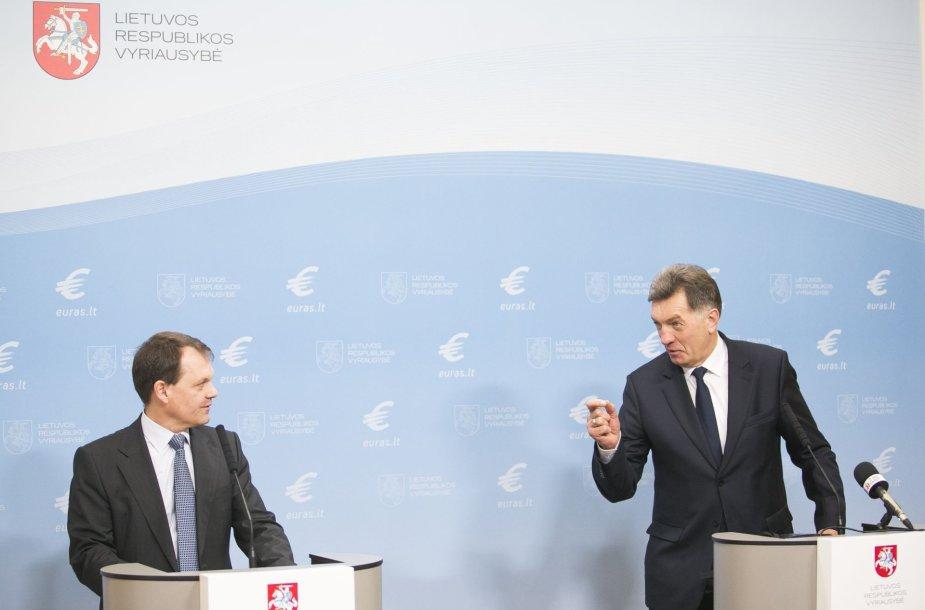 Christophas Klingenas ir Algirdas Butkevičius