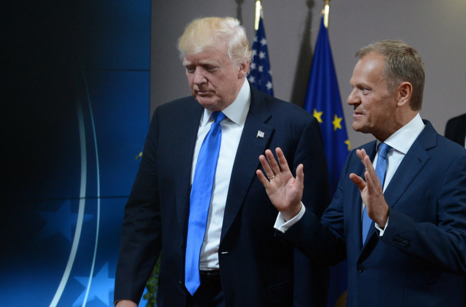 Donaldas Trumpas ir Donaldas Tuskas