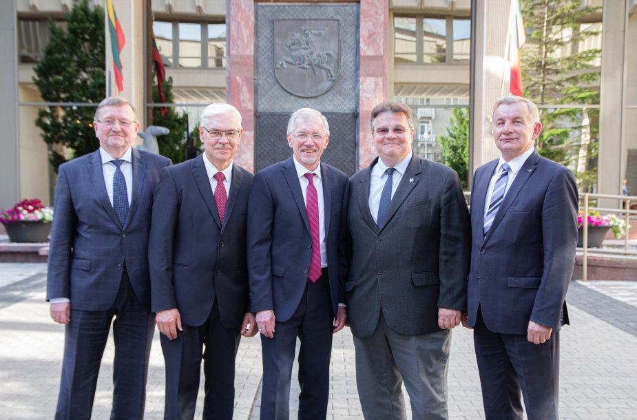 J.Bernatonis, Z.Balčytis, G.Kirkilas, L.Linkevičius, R.sinkevčiius