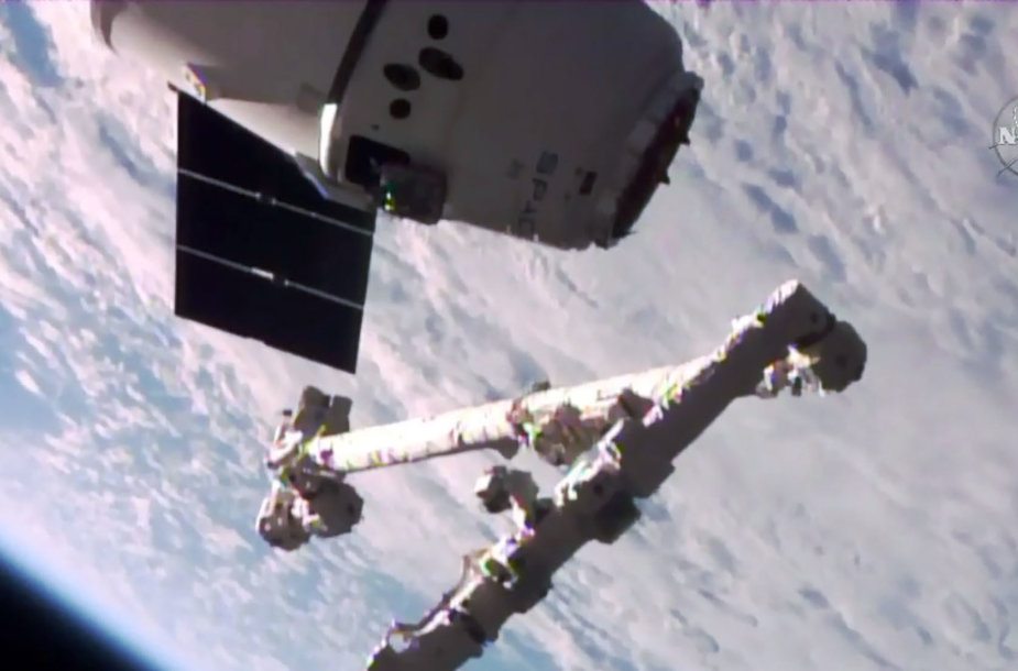 """SpaceX """"Dragon"""" kapsulė"""