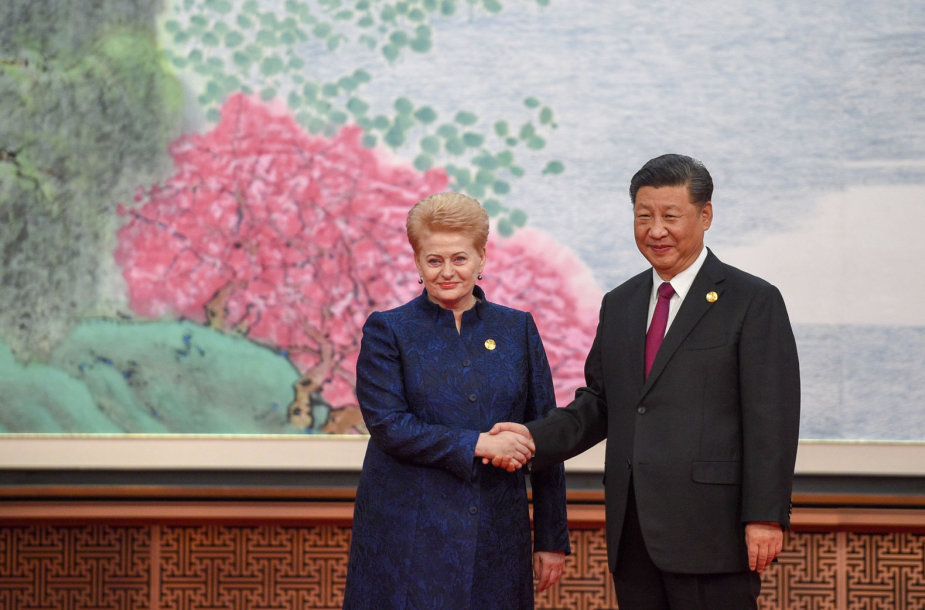 Prezidentė dalyvavo pirmosios tarptautinės Kinijos importo parodos atidaryme