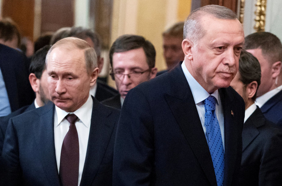 V.Putinas ir R.T.Erdoganas