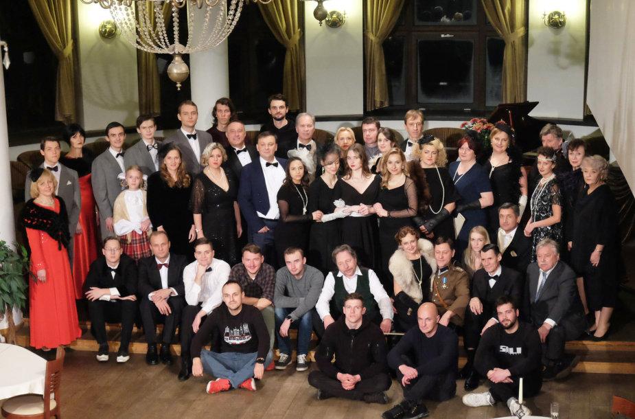 """Vilniaus lenkų teatro """"Studija"""" komandą dabar sudaro beveik 100 žmonių"""