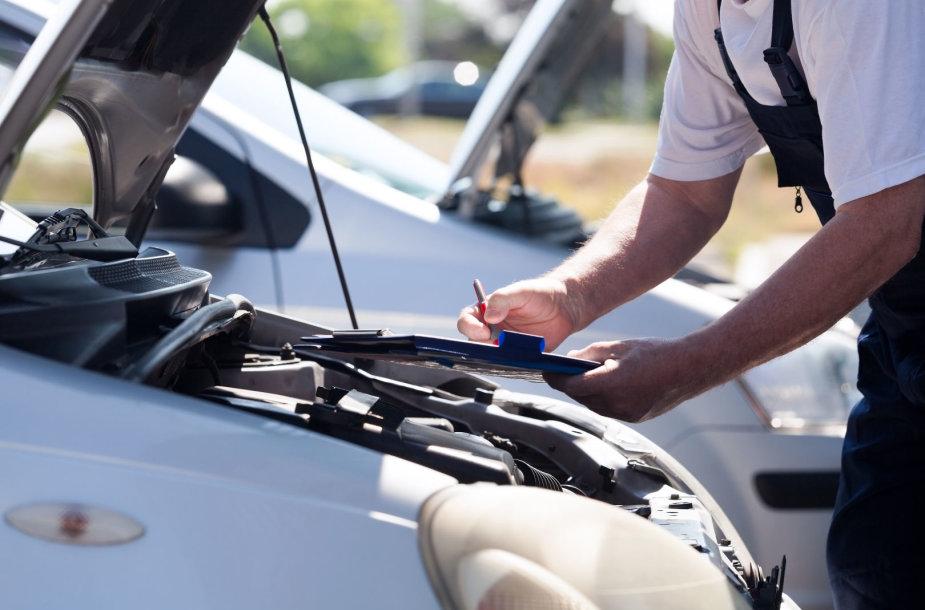 Automobilio apžiūra
