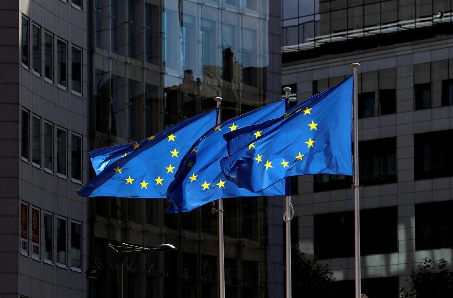 ES vėliavos
