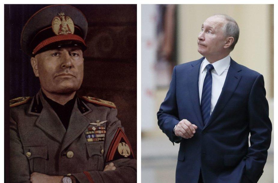 Mussolinis ir Putinas