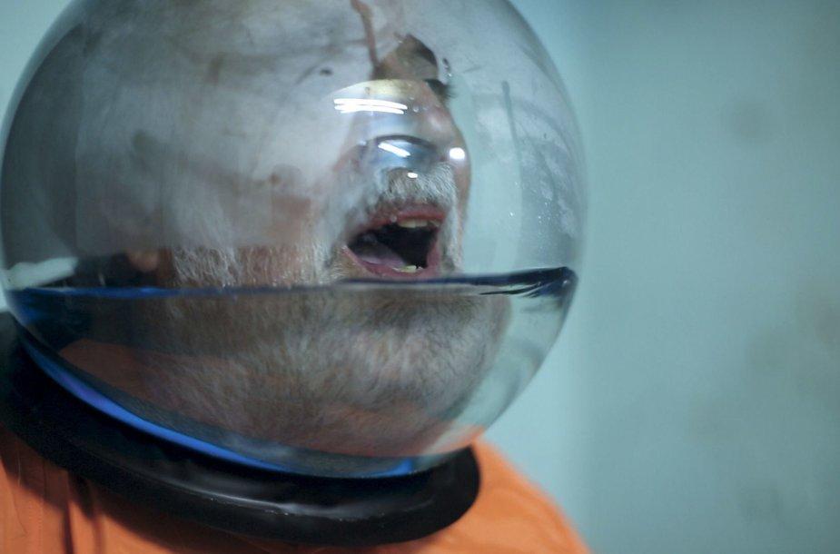 "Kasios Fudakowski filmo ""Word Count 04: The Martyrdom of Professor Sanchez"" kadras"