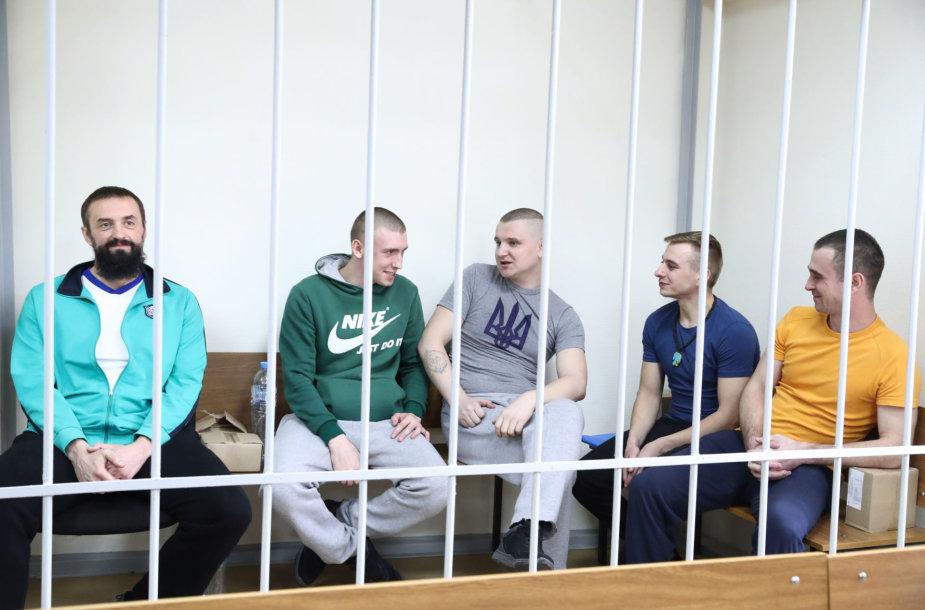 Sulaikyti ukrainiečių jūreiviai
