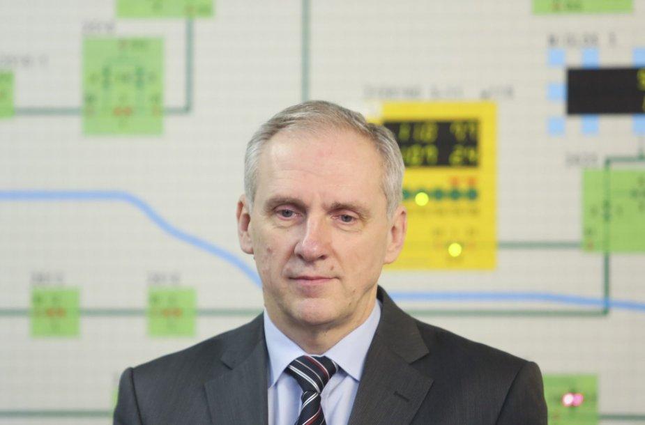 """""""Vilniaus šilumos tinklų"""" vadovas Arūnas Keserauskas"""