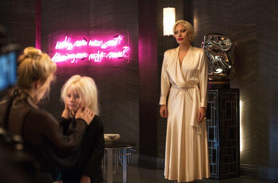 """Ištrauka iš serialo """"Amerikietiška siaubo istorija"""", kurio penktajame sezone Lady Gaga atliko vieną pagrindinių vaidmenų"""