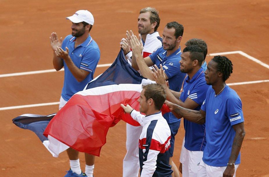 Prancūzijos teniso rinktinė