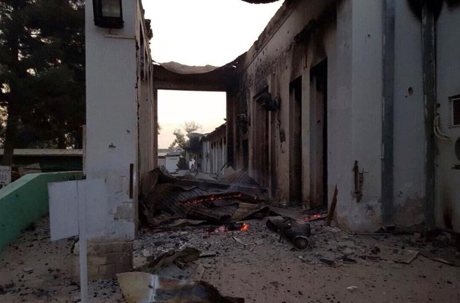 Ligoninė po bombardavimo