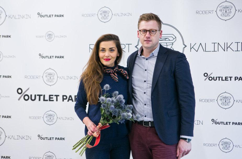 Eglė Skrolytė ir Jonas Elvikis