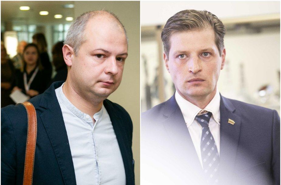Simonas Gentvilas ir Kęstutis Mažeika