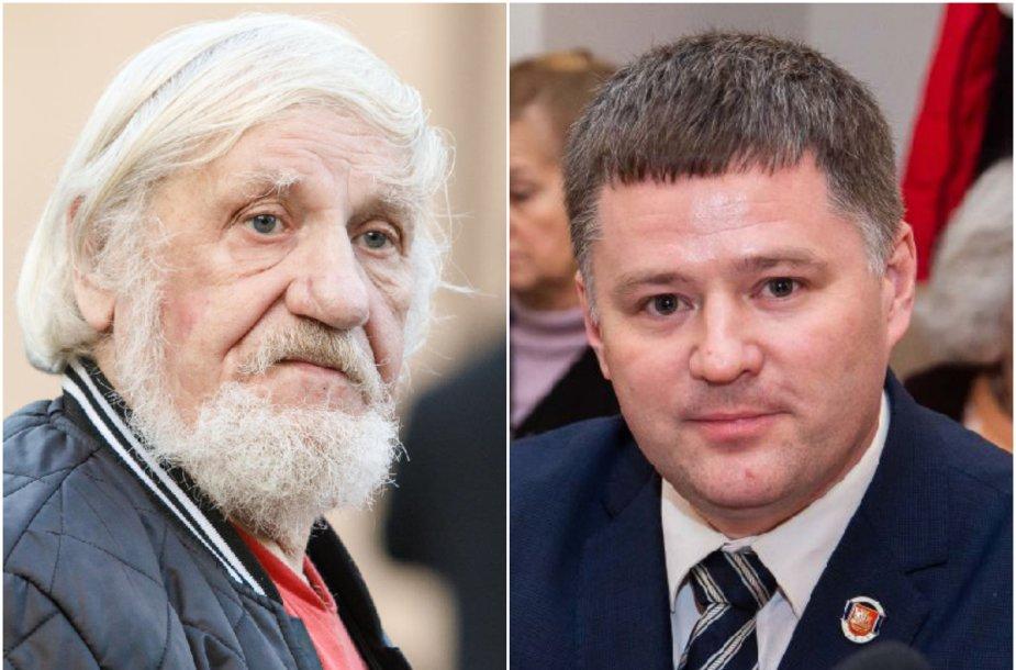 V.Šustauskas ir V.Titovas