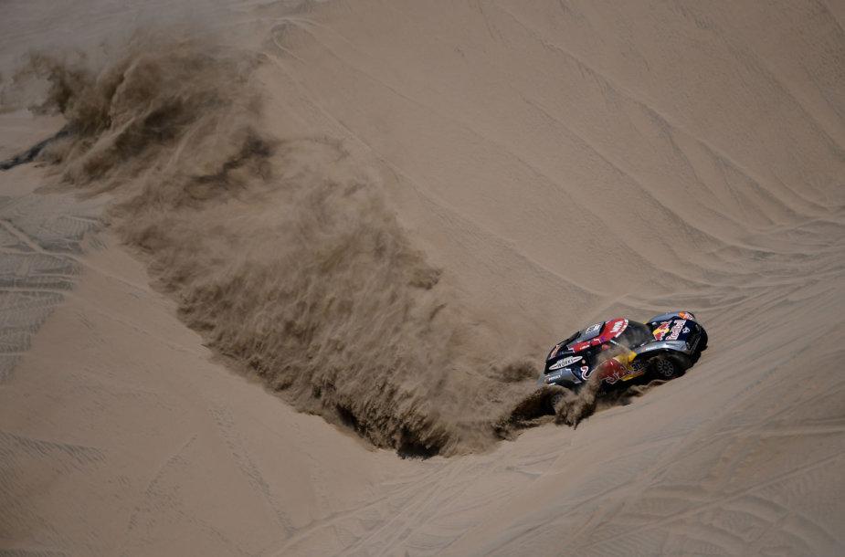 Šeštasis greičio ruožas Dakare