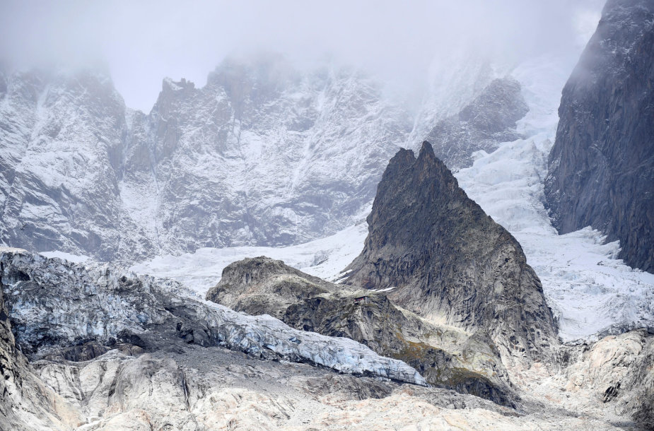 Planpincieux ledynas Alpėse