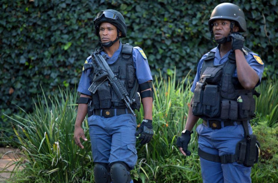 Pietų Afrikos Respublikos policija
