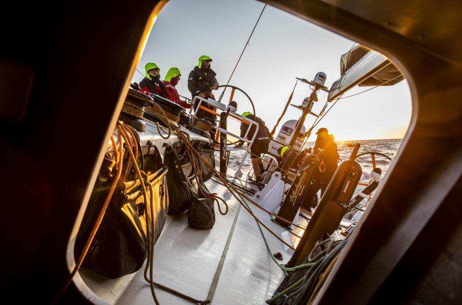 """Ambersail 2"" komanda finišavo regatoje ""AF Offshore Race"