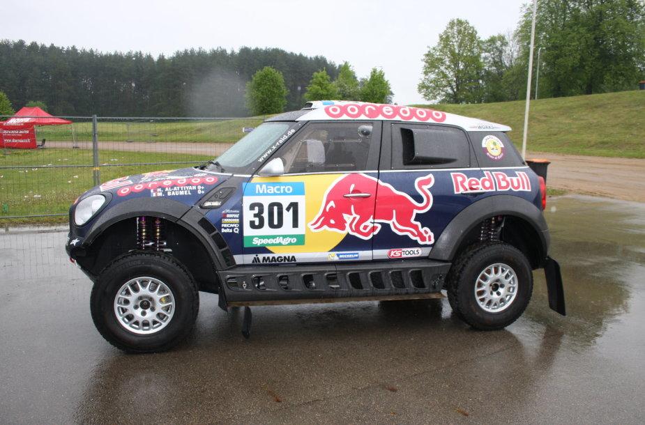 """Dakaro nugalėtojo """"Mini"""""""