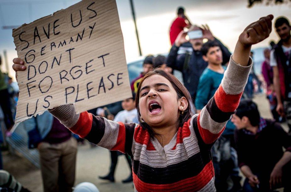 Idomeni(Graikija) pabėgėlių stovykla