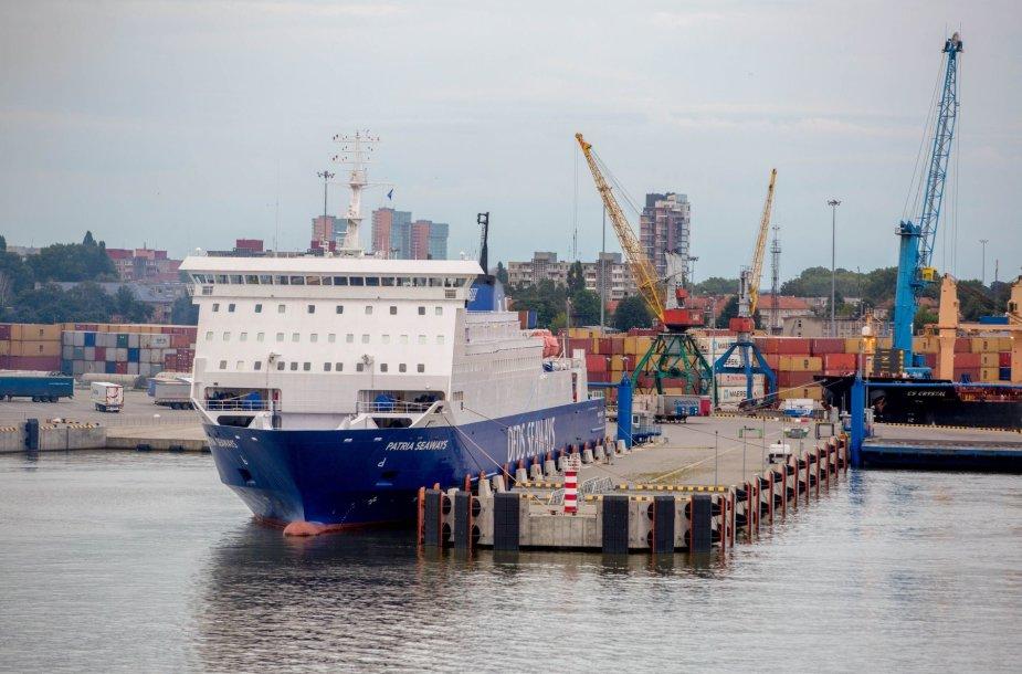 Kelionė keltu iš Klaipėdos į Švedijos Karlshamno uostą