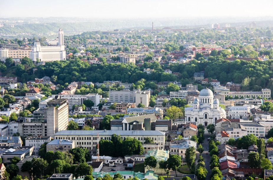 Kaunas iš viršaus