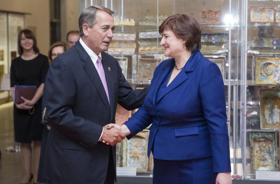 Džonas Beineris ir Loreta Graužinienė
