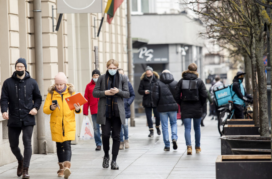 Pavasarinė šiluma Vilniuje