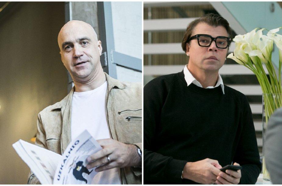 Algis Ramanauskas ir Juozas Statkevičius