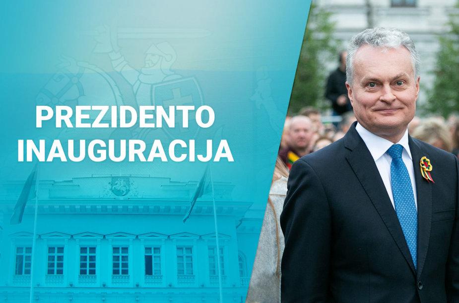 G.Nausėdos inauguracijos dieną – specialios 15min transliacijos