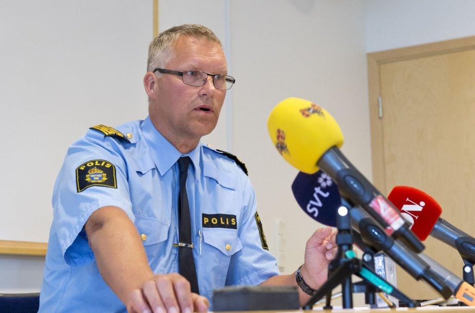 Vesteroso policijos vadas Paeras Aagrenas